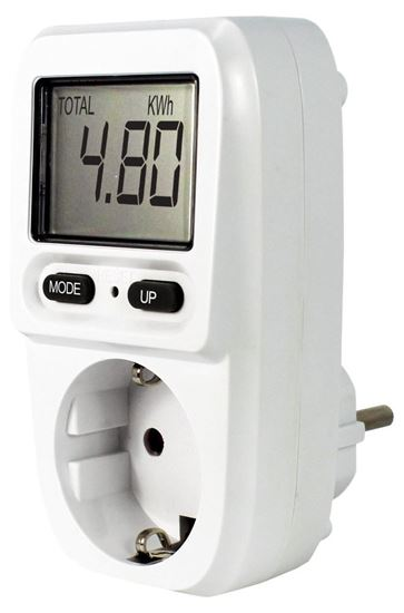 EcoSavers Energy Meter Mini - miernik zużycia energii i kosztów energii elektrycznej (EU Plug typu F)
