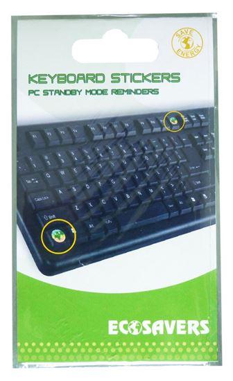 EcoSavers Keyboard Stickers - naklejki do ekspresowego przejścia komputera w tryb uśpienia