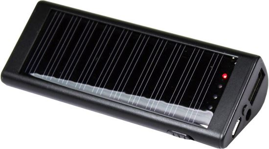 POWERplus Zebra - solarny powerbank 2000 mAh