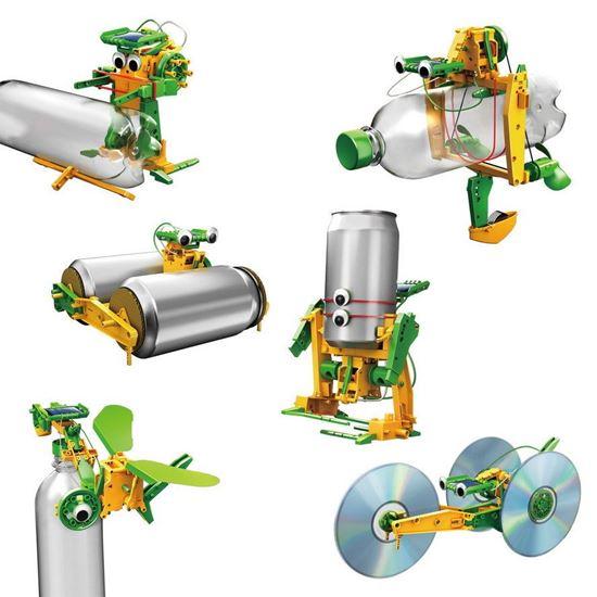 POWERplus Solar Recycler - zestaw zabawek solarnych z częściami z recyclingu