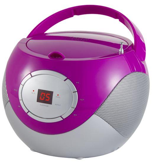 Odtwarzacz CD (boombox) AD 1125p