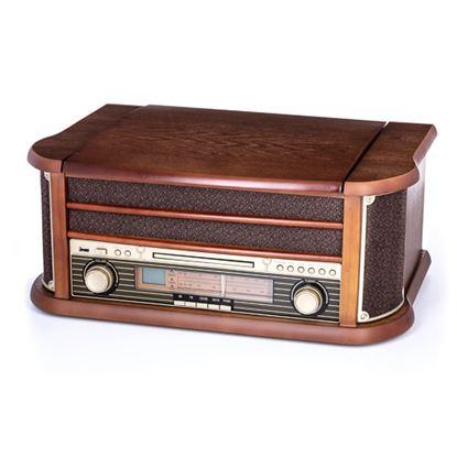 Gramofon z CD/MP3/USB/nagrywaniem CR 1111
