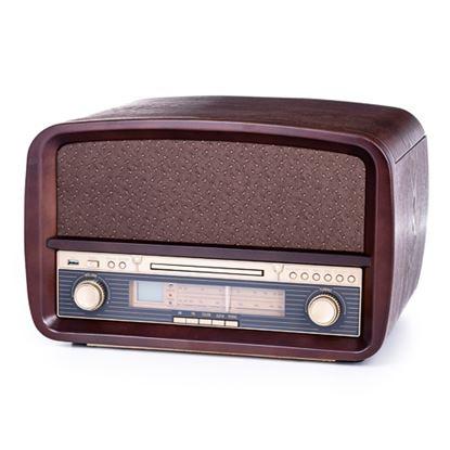 Gramofon z CD/MP3/USB/nagrywaniem CR 1112