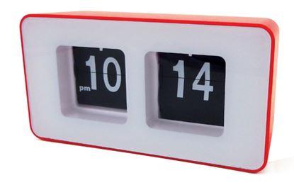 Zegar klapkowy auto-flip CR 1131 red