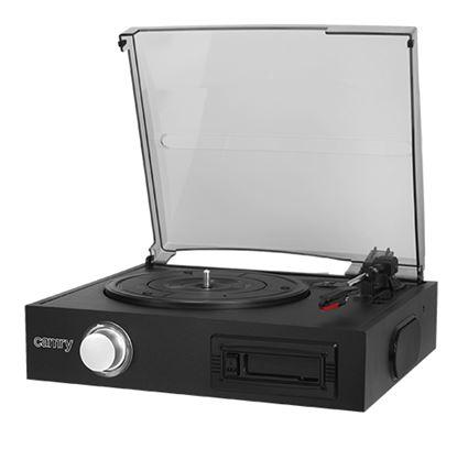 Gramofon z odtwarzaczem kaset CR 1154