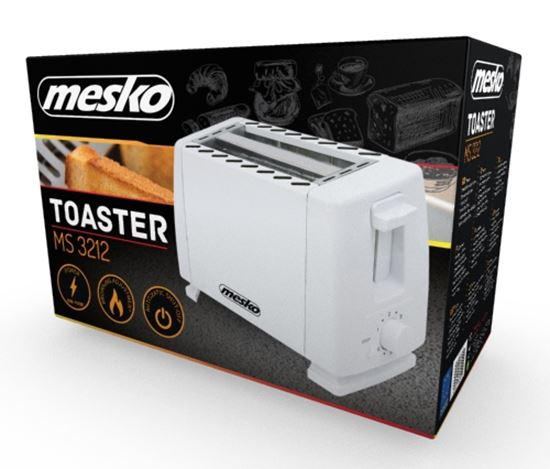 Toster 2 kromki MS 3212