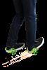 Razor wrotki na buty Jetts DLX zielone