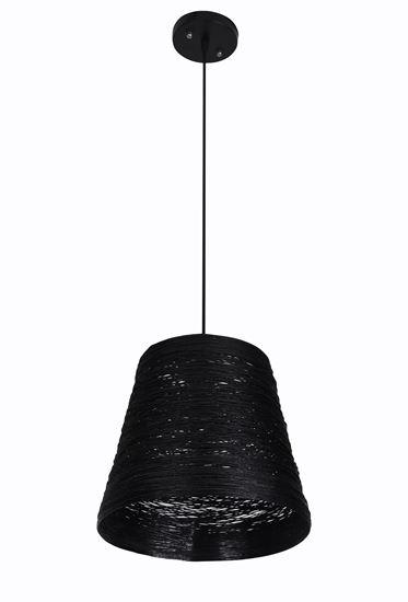 Lampa wisząca Flora B czarna