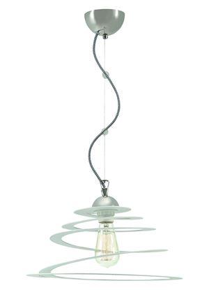 Lampa wiszaca Orbita 1 biala