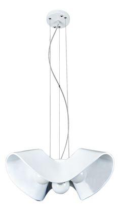 Żyrandol Gemma 3 biała