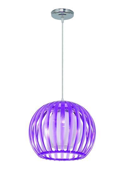 Lampa wisząca Wenus fiolet