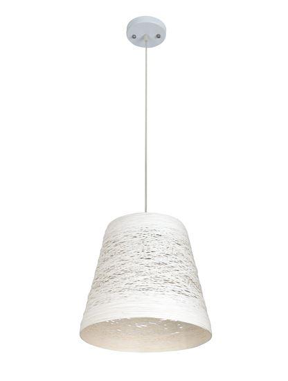 Lampa wisząca Flora A biała