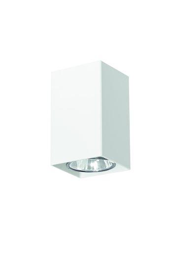Lampa sufitowa Nero biała