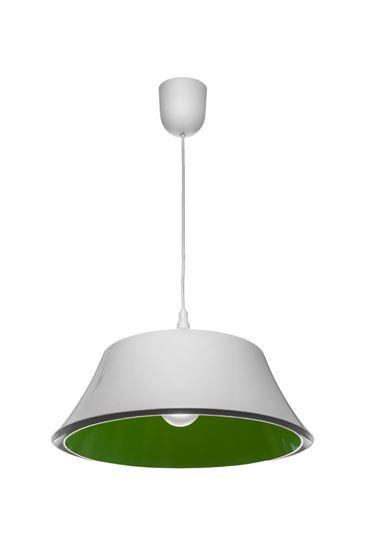 Lampa wisząca Milo zielony