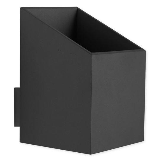 Kinkiet Rubik krótki czarny