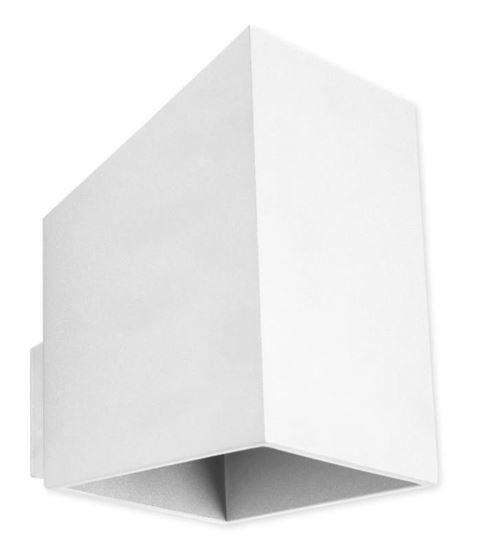 Kinkiet Rubik długi biały