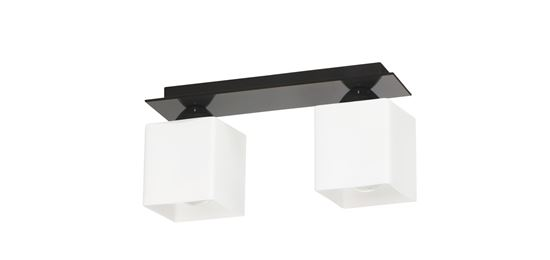 Lampa sufitowa Floki 2 czarna