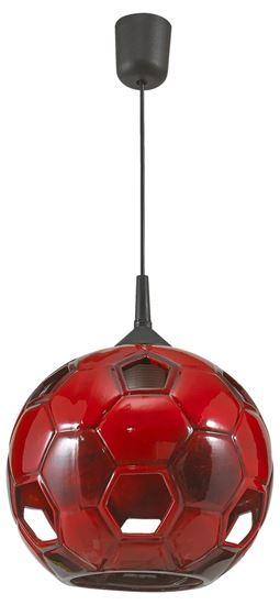 Lampa wisząca Football czerwona