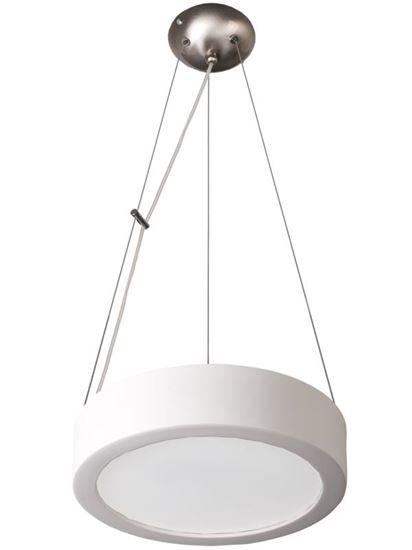 Lampa wisząca Atena 36 Biała