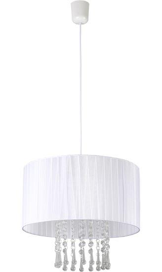 Lampa wisząca Wenecja biała