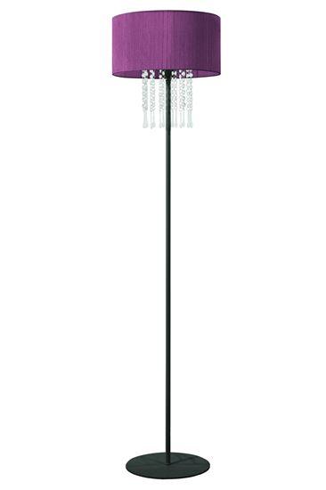 Lampa podłogowa Wenecja Fiolet