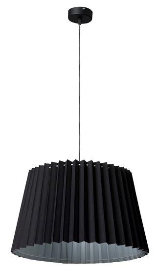 Lampa wisząca 1 Zima Czarna