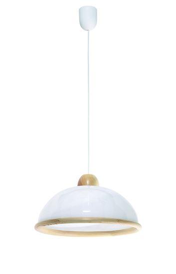 Lampa wisząca Mojra sosna