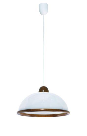 Lampa wisząca Mojra dąb