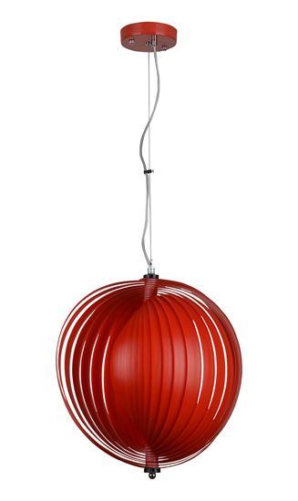 Lampa wisząca Metis/ czerwona