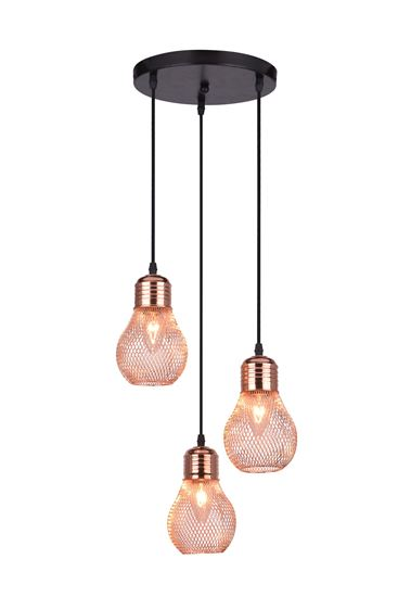 Lampa wisząca Lilia 3P