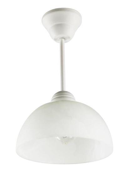 Lampa wisząca Cyrkonia A biała