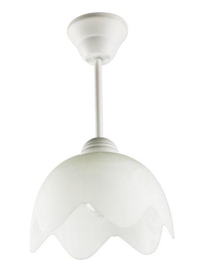 Lampa wisząca Cyrkonia B biała