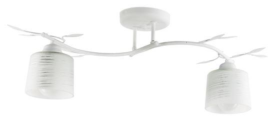 Lampa sufitowa Viola 2A biała