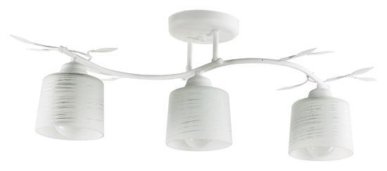 Lampa sufitowa Viola 3A biała