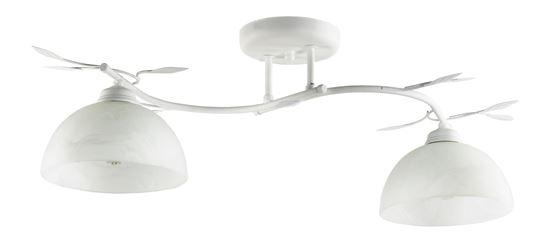 Lampa sufitowa Viola 2B biała