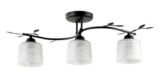 Lampa sufitowa Viola 3A czarna
