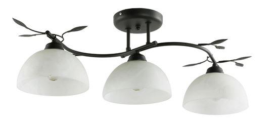 Lampa sufitowa Viola 3B czarna