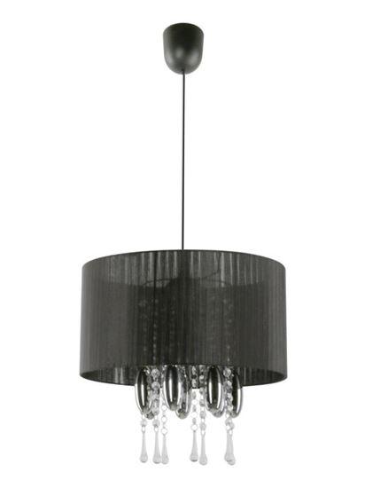 Lampa wisząca Camilla czarna