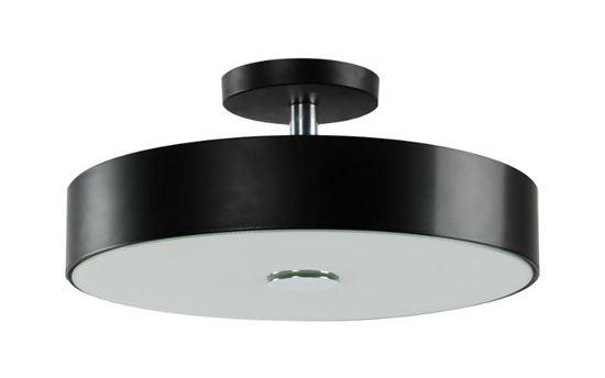 Lampa sufitowa Roda czarna