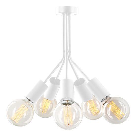 Lampa sufitowa Jaro 5 biała