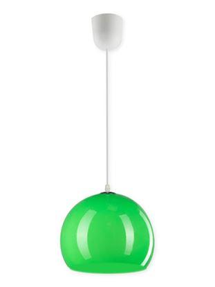 Lampa wisząca Malta 1B zielona 23W