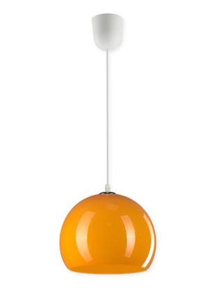 Lampa wisząca Malta 1C pomarańcz 23W