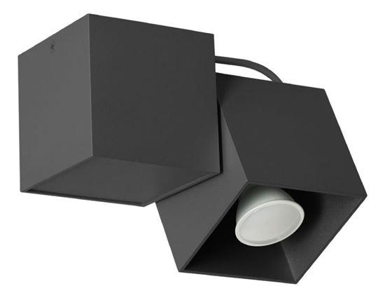 Lampa sufitowa Kraft 1 czarna