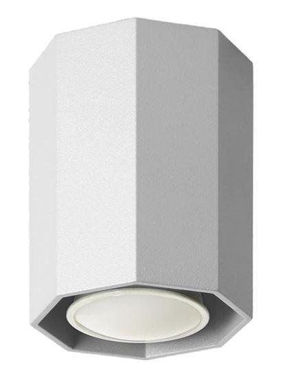 Lampa sufitowa Okta 10 biała