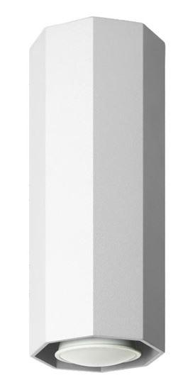 Lampa sufitowa Okta 20 biała