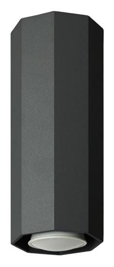 Lampa sufitowa Okta 20 czarna