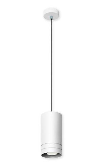 Lampa wisząca Simon 1 biała