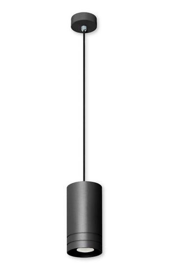 Lampa wisząca Simon 1 czarna