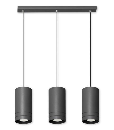 Lampa wisząca Simon 3L czarna
