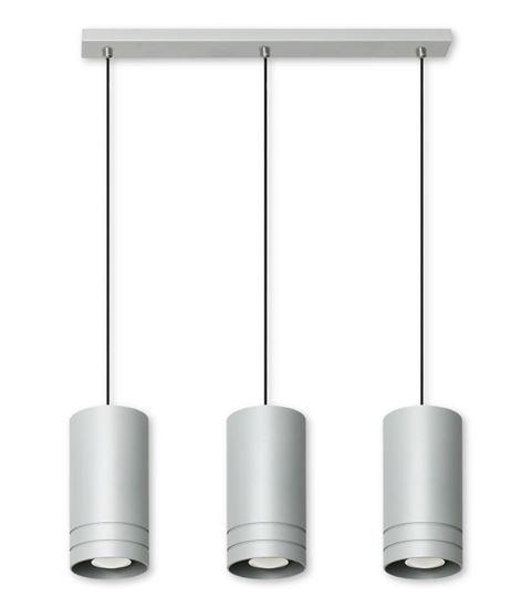 Lampa wisząca Simon 3L popiel